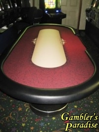 Casino Poker Table HIGH ROLLER Lay Out 001