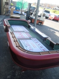 Craps Table 12ft Atlantic City Complete 017
