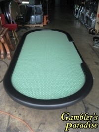 Hold-Em Poker Table with Suited Speed Cloth 9ft 006