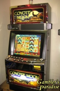 IGT Coyote Moon 044 Video Bonus machine 001