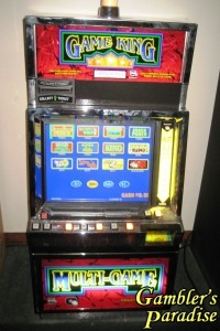 game king video poker machine