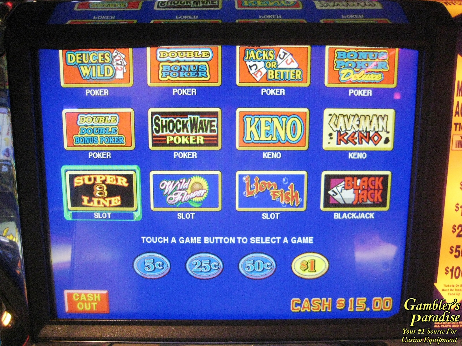 casino video games for sale