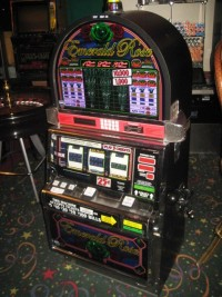 IGT RT S2000 Emerald Rose Slot Machine 001