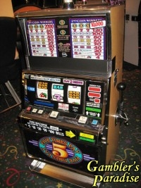 IGT S2000 5 Times Pay Multi-Denom Slot Machine 001