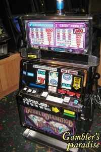IGT S2000 Double Diamond Deluxe Slot Machine 007