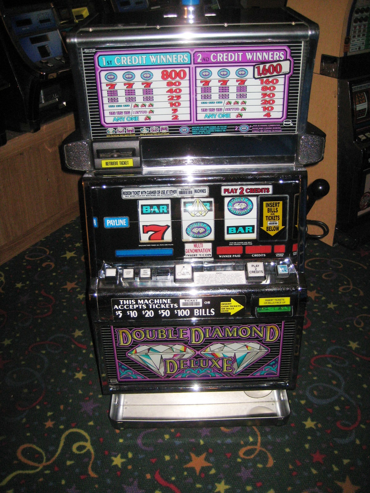 double diamond deluxe slot machine play online