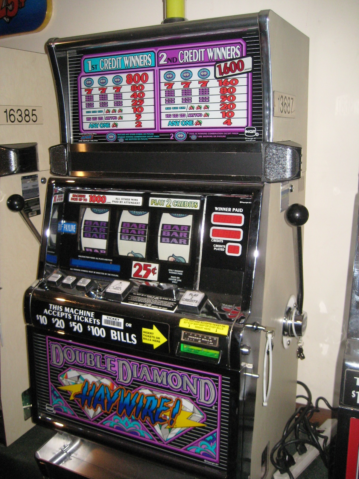 Video slot machines for sale