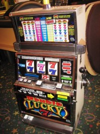 IGT S2000 Double Lucky 7 Slot machine 001