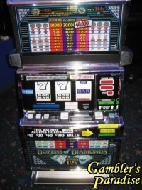IGT S2000 Dozen of Diamonds Slot Machine 006