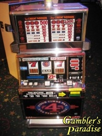 IGT S2000 Four Times Pay 25c Coin Slot Machine 006