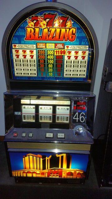 Bally Blazing 7 Tournament Machine Slot Machines For