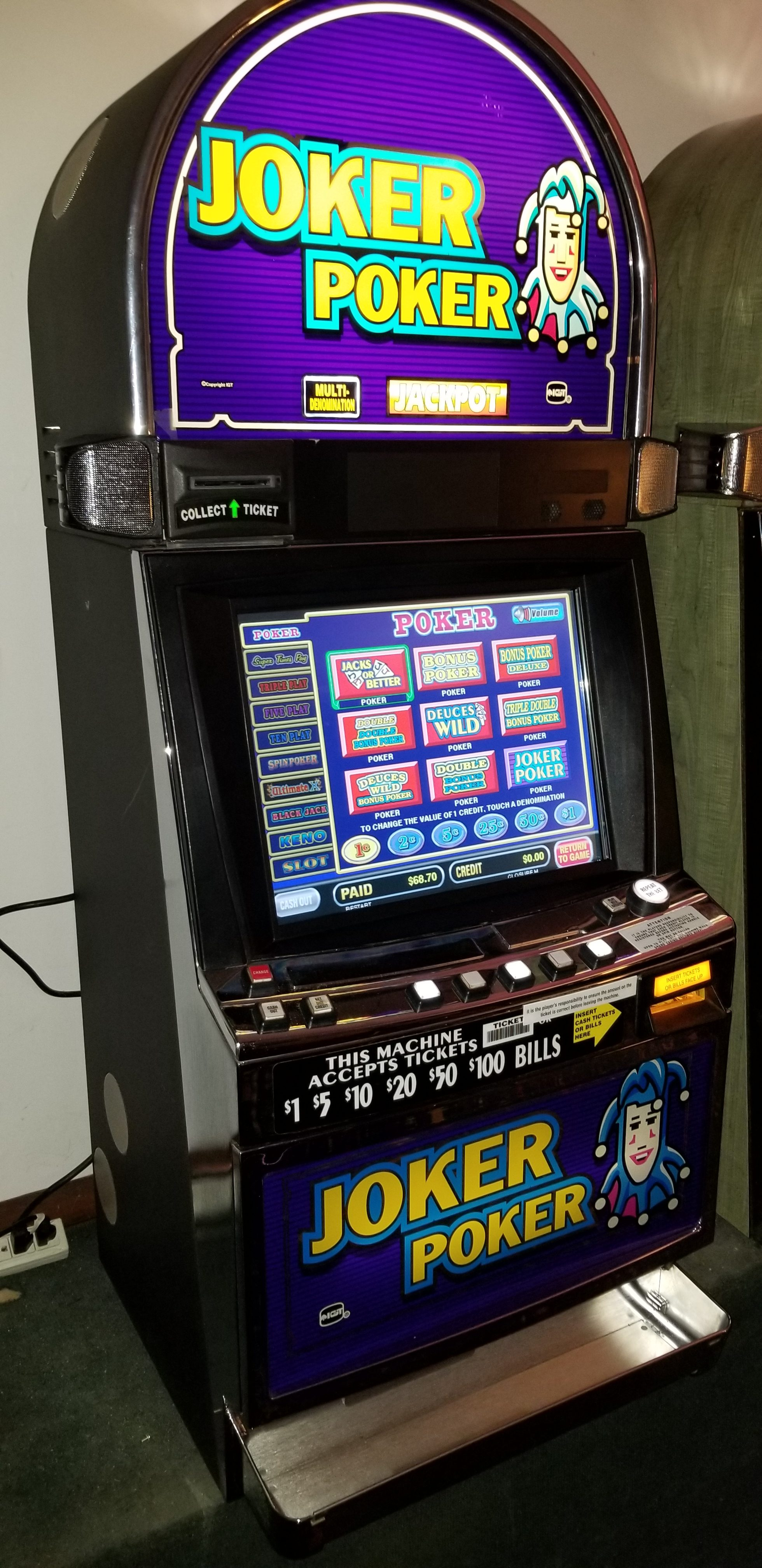 Lobstermania slot machine